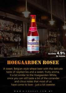 hoegaarden rosee_Bierhaus